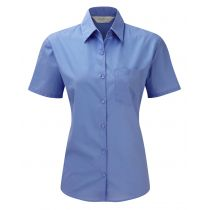 Popelin Bluse Corporate Blue 3XL (46)