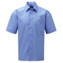 Popelin Hemd Corporate Blue L