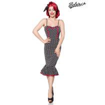 Retro Kleid,schwarz/weiß Größe M