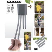 Adexi Schuhtrockner grau für 2 Paar Stiefeltrockner Stiefel verstellbar