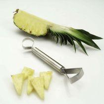 Ananasschneider Duo Ananasschäler Ananaszerteiler Spezialschneider Obstschneider Ananas Obst