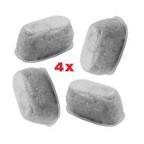 Anti-Kalk-Filter 4er Set geeignet für Beem Domo AEG Ersatzfilter Aktivkohlefilter Kalkfilter