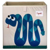Aufbewahrungsbox Schlange Kinder Kinderzimmer Ordnungsbox Aufbewahrungskiste Spielzeugkiste