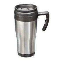 Auto-Isolierbecher 0,4 l Isolierbecher Thermobecher Auto Autoisolierbecher unterwegs Becher Tasse