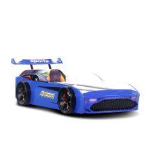 Autobett GT18 in blau Kinderbett 90x190 cm