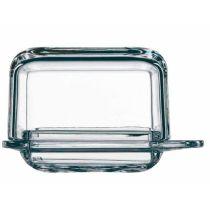 Butterdose klein Brunch single Butter dish Glas Crystal Butter-Dose Butteraufbewahrung Kristal