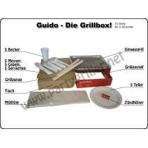 Guido-Die Grillbox Einweggrill Grill Garten Grillzubehör Barbecue Einweg-grill Park grillen