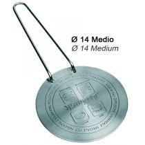 Induktionsadapterplatte 14 cm Edelstahl Induktions-Adapterplatte Induktionsadapter Adapter Platte