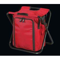 Isoliertasche mit Hocker Dolomiti Duo rot Kühltasche Kühlbox Isolierbox Tasche Picknick