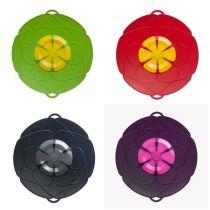KOCHBLUME - Überkochschutz Überkochschutzdeckel Spritzschutz Topfdeckel