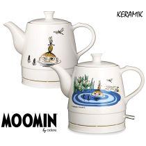Moomin Keramik Wasserkocher Wasserkessel Teekocher Lake 0,8L 1750 W