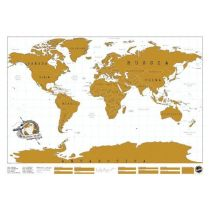 Rubbel Weltkarte Scratch Map rubbeln Reiseweltkarte Welt Karte Reise Poster groß Weltreisender
