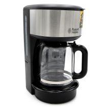 Russell Hobbs Oxford Glas-Kaffeemaschine Filterkaffeemaschine schwarz