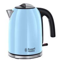 Russell Hobbs Wasserkocher Colours Plus+1,7L 2400W hellblau himmelblau Edelstahl