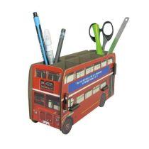 Stiftebox Doppeldeckerbus Stiftehalter Stifte Box Ordnung Schreibtisch Stifteköcher