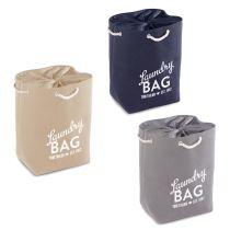 TOM TAILOR Wäschesammler Laundry Bag Druck Stoff Wäschekorb Wäschesack Wäschebox