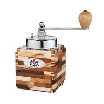 Zassenhaus Kaffeemühle Montevideo Melange manuell Kaffee mahlen Hand Holz