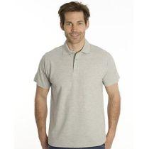 SNAP Polo Shirt Star - Gr.: 3XL, Farbe: grau meliert
