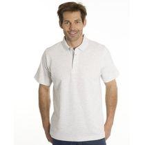 SNAP Polo Shirt Star - Gr.: M, Farbe: asche