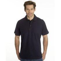 SNAP Polo Shirt Star - Gr.: M, Farbe: schwarz