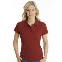 SNAP Polo Shirt Top-Line Women dunkelrot, Grösse S