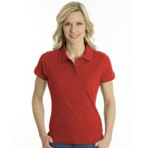 SNAP Polo Shirt Top-Line Women rot, Grösse S