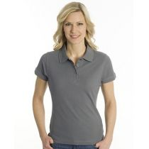 SNAP Polo Shirt Top-Line Women stahlgrau, Grösse XS