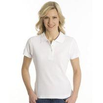 SNAP Polo Shirt Top-Line Women, Weiss, XL