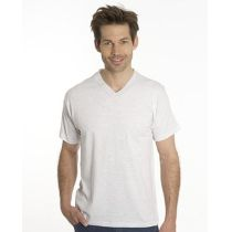 SNAP T-Shirt Flash Line V-Neck Unisex, asche, Gr. XL