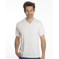 SNAP T-Shirt Flash Line V-Neck Unisex, asche, Gr. XS