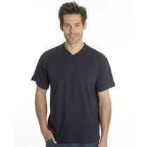 SNAP T-Shirt Flash Line V-Neck Unisex, schwarz, Gr. S
