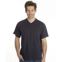 SNAP T-Shirt Flash Line V-Neck Unisex, schwarz, Gr. XL
