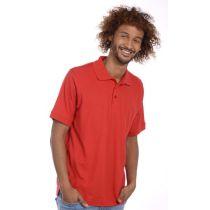 SNAP Workwear Polo Shirt P1, Rot, Grösse L