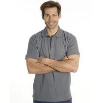 SNAP Workwear Polo Shirt P1, Stahl Grau, Grösse XS