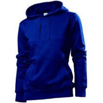 Stedman Hooded Sweatshirt Women, navy, Grösse L