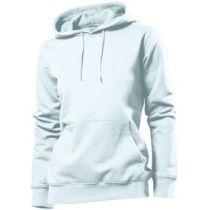 Stedman Hooded Sweatshirt Women, weiss, Grösse XL