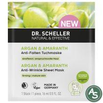 Dr. Scheller Argan & Amaranth Anti-Falten Tuchmaske - 16 ml
