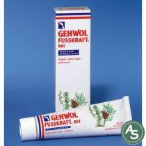 Gehwol Fußkraft Rot (Hautfettend, für trockene Haut) - 125 ml