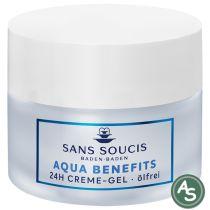 Sans Soucis Aqua Benefits 24h Creme-Gel - ölfrei - 50 ml