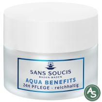 Sans Soucis Aqua Benefits 24h Creme - reichhaltig - 50 ml