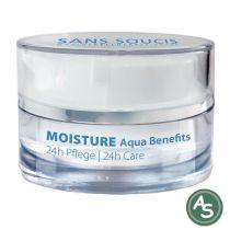 Sans Soucis Aqua Benefits Anti-Age 24h Pflege für normale Haut - 15 ml