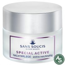 Sans Soucis Special Active Nachtpflege extra reichhaltig - 50 ml