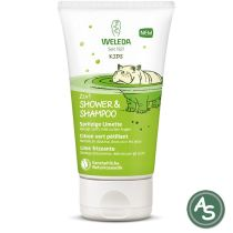 Weleda Kids 2in1 Shower & Shampoo Spritzige Limette - 150 ml