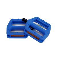 Fahrradpedalen Plattform-Pedale Pedalen Kunststoff Blau
