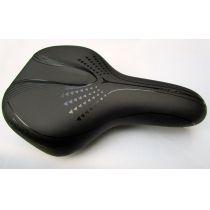 Fahrradsattel City-Sattel Unisex D2 Flexbase Black