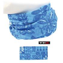 Halstuch Bandana Stirnband Kopftuch Microfaser Blau mit Motiv