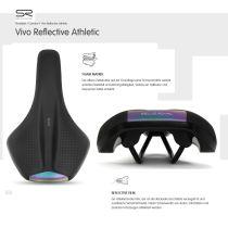 Selle Royal, Unisex Fahrrad Sport-Sattel Vivo Reflective Athletic 106750