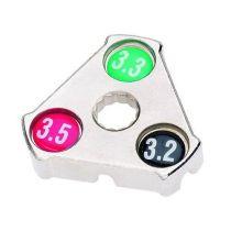 Speichenspanner Nippelspanner Comfort  3,2 / 3,3 / 3,5 mm