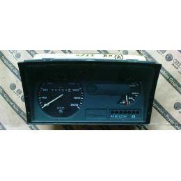 Armaturen Einsatz VW Polo 86 C .2 / Derby 2 Display weiß 200 km/h / Tacho / Tank Anzeige / Temperatur Anzeige