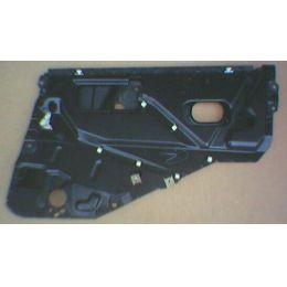 Doorplate Tür innen Audi 80 89 4T / HR - VAG / VW / Audi 9.86 - 8.91 - Seiten Fenster Halte Platte - gebraucht